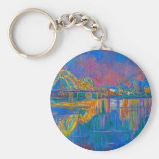 Memphis Lights Key Ring