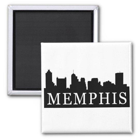 Memphis Skyline Magnet