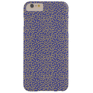 Memphis Style Purple Zigzag Barely There iPhone 6 Plus Case
