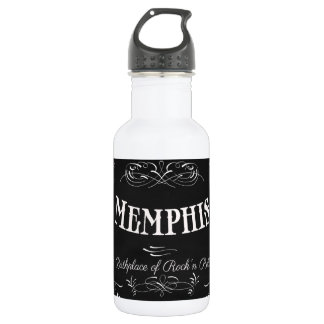 Memphis, Tennessee - City with Soul 532 Ml Water Bottle