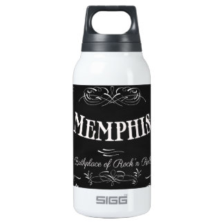 Memphis, Tennessee - City with Soul Insulated Water Bottle
