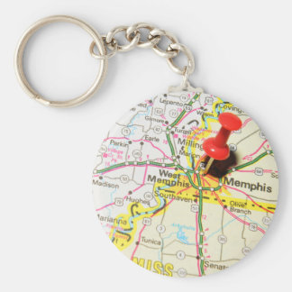 Memphis, Tennessee Key Ring