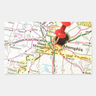 Memphis, Tennessee Rectangular Sticker