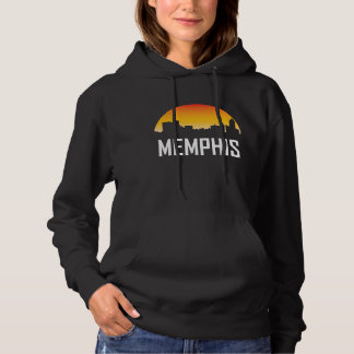 Memphis Tennessee Sunset Skyline Hoodie