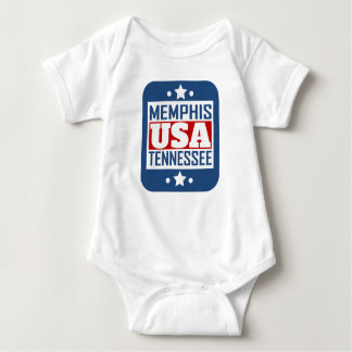 Memphis Tennessee USA Baby Bodysuit