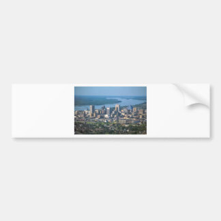 Memphis Tennsesse Skyline Bumper Sticker