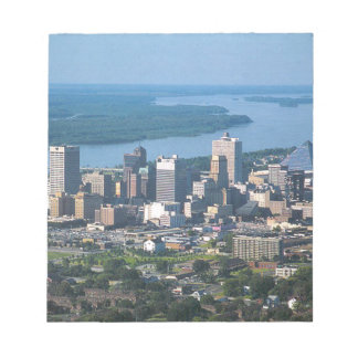 Memphis Tennsesse Skyline Notepad
