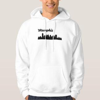 Memphis TN Skyline Hoodie