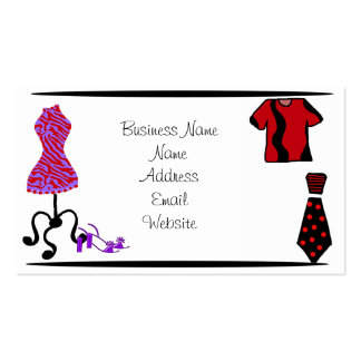 Men and Women Fashion Clothing Business Card