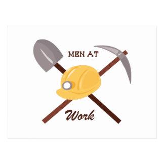Men at Work Postcard