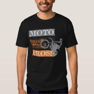 Men Black Motocross Hawaii Holiday Shirt