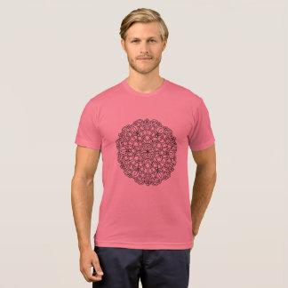Men designers t-shirt with Mandala