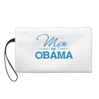 MEN FOR OBAMA -.png Wristlet