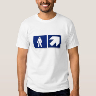 Men Go There Tee Shirts