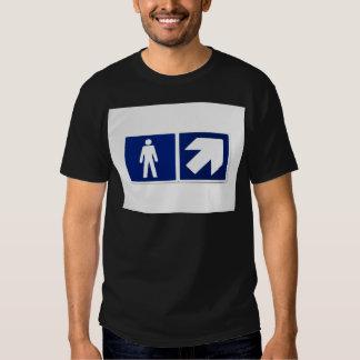 Men Go There Tshirt