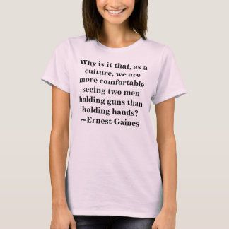 Men holding hands - Culture T-Shirt