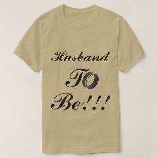 Men Husband To Be T-Shirt
