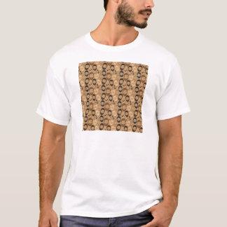 Men in Beards pattern T-Shirt