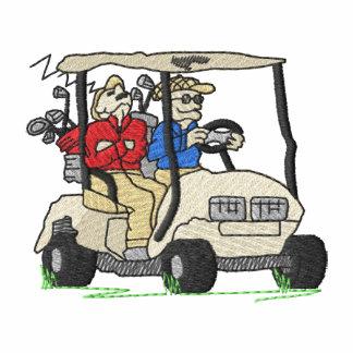 Men In Golf Cart