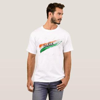 Men India Flag T-shirt