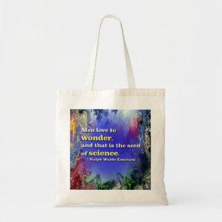 Men love to wonder... Tote bag
