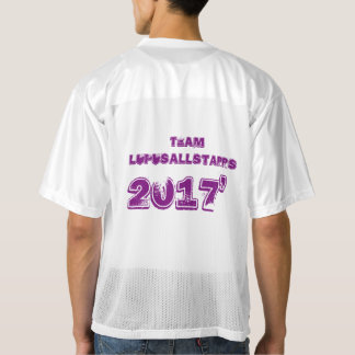 Men Lupus Walk 2017 Men's Football Jersey