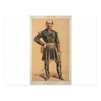 Men of the Day No.100 Caricature of Gen Louis Jule Postcard