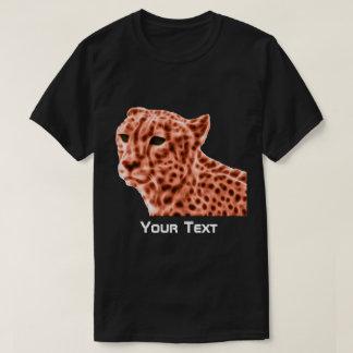 Men orange cheetah T-Shirt