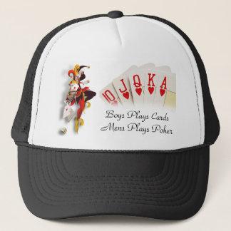 Men Poker Hat