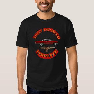 "Men""s Black 1957 Desoto Firelite. Shirt"