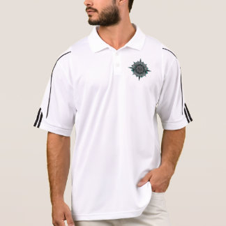 Men s Collared Shirt with Wicked Waters Main logo