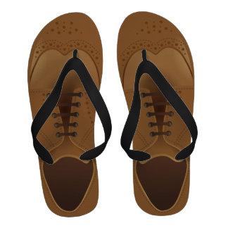 Men s Fashion Modern Brown Shoes Flip Flops