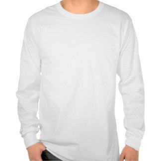 Men's long sleeve shirt with shamrock
