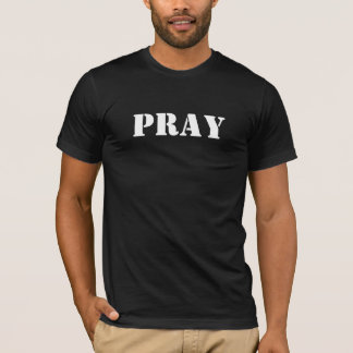 Men short T-shirt - Pray