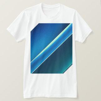 Men t-shirt blue sea