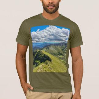 Men T-Shirt Mountain Panorama