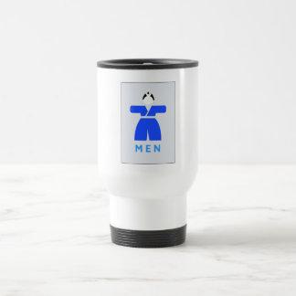 Men toilet, Japanese Sign Stainless Steel Travel Mug