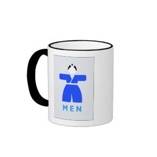 Men toilet, Japanese Sign Coffee Mug