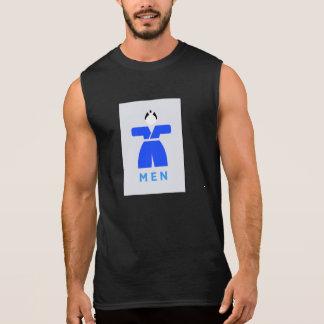 Men toilet, Japanese Sign Sleeveless Shirts