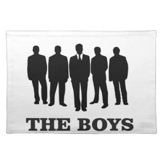 men well dressed placemat