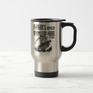 Men Who are Afraid of the Light Coffee Mug