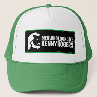 Men Who Look Like Kenny Rogers Trucker Hat