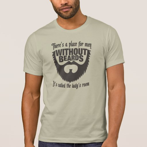 Men Without Beards Tee Shirt