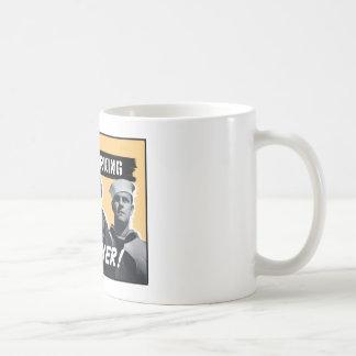 Men Working Together! WW2 Poster Coffee Mug