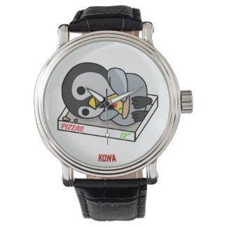 Men Wrist watch PIZZER by KoWa As you Like It leat