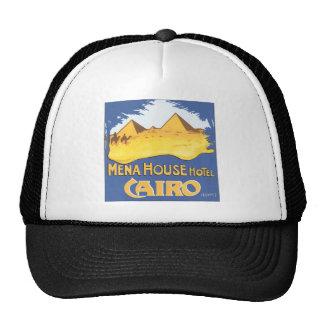 Mena House Hotel Cairo Egypt, Vintage Hat