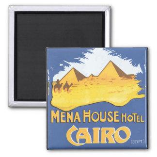 Mena House Hotel Cairo Egypt, Vintage Magnet