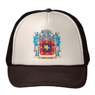 Menacci Coat of Arms - Family Crest Hats