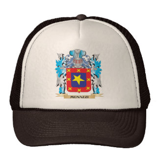 Menazzi Coat of Arms - Family Crest Hat