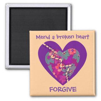 mend a broken heart magnet